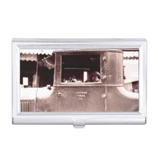 Flapper in Eastman Kodak Co. Car Business Card Holder