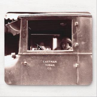 Flapper in Eastman Kodak Co. Car Mouse Pad