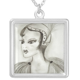 Flapper in Feathers Necklaces