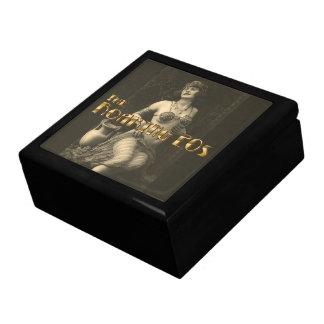 Flapper in Sepia 2 Jewelry Box