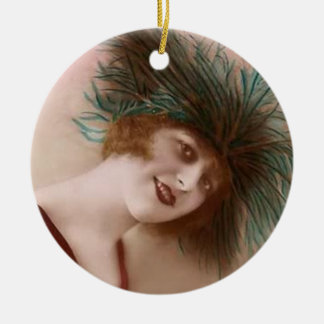 Flapper ornament