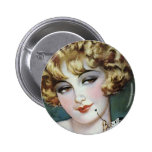 Flapper Painting Pin