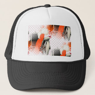 flapper polkadots trucker hat