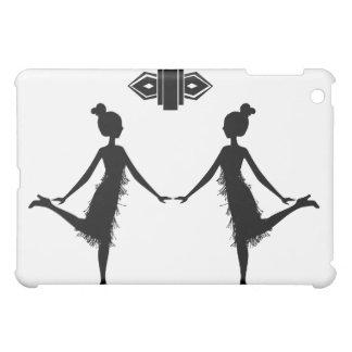 Flapper Silhouette Case For The iPad Mini