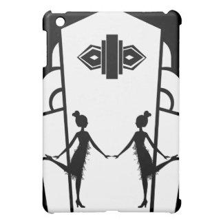 Flapper Silhouette Cover For The iPad Mini