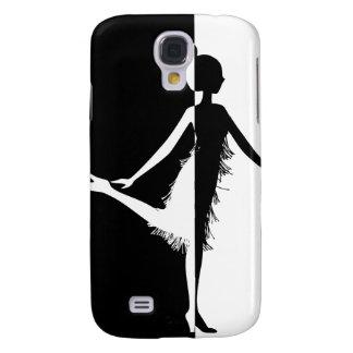 Flapper Silhouette Samsung Galaxy S4 Cover