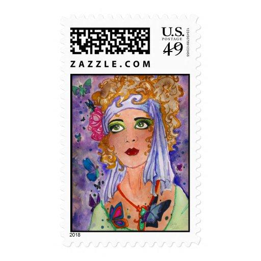 Flapper Stamp
