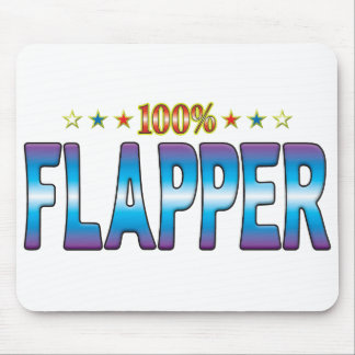 Flapper Star Tag v2 Mouse Pad