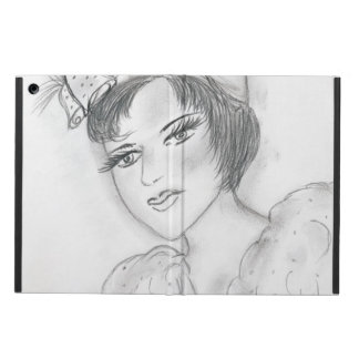 Flapper with Bells iPad Air Cover