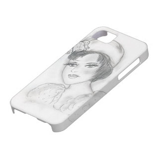 Flapper with Bells iPhone SE/5/5s Case