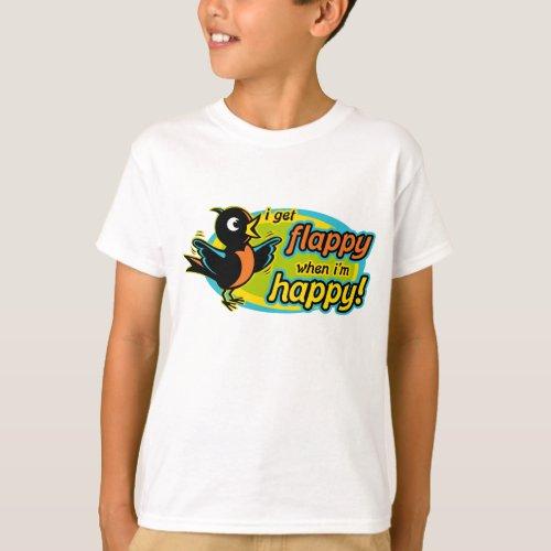 Flappy Happy T_Shirt