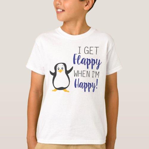 Flappy when Im Happy Shirt