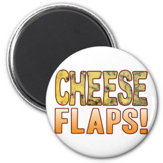 Flaps Blue Cheese 2 Inch Round Magnet