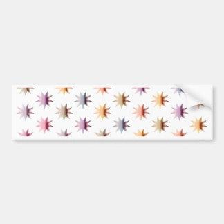 Flare Polka Dots (no back) Bumper Sticker