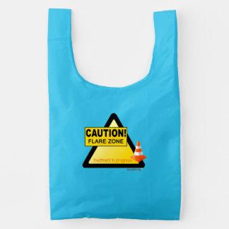 Flare zone reusable bag