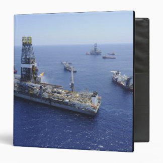 Flaring operations conducted by the drillship binder