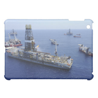 Flaring operations conducted by the drillship iPad mini cover