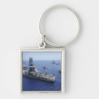 Flaring operations conducted by the drillship keychain