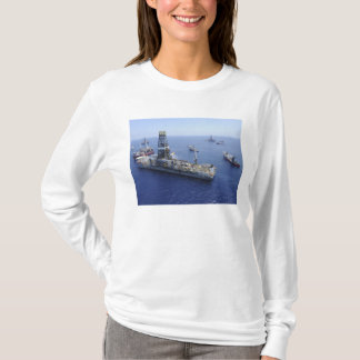 Flaring operations conducted by the drillship T-Shirt