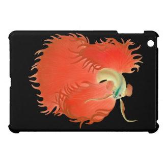 Flaring Red Betta Spendens Fish iPad Mini Case