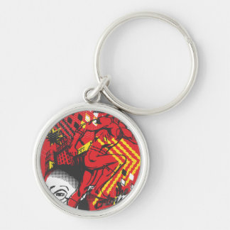 Flash - Absurd Collage Poster Key Chain