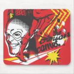 Flash - Absurd Collage Poster Mouse Pad