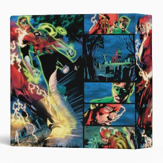 Flash and Green Lantern Panel Binder