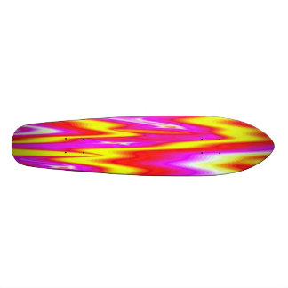 FLASH BACK BRIGHT PLASTIC SKATEBOARD