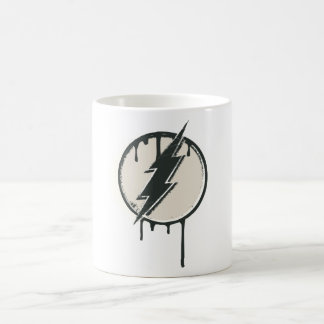 Flash Bolt Paint Grunge Coffee Mug