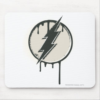 Flash Bolt Paint Grunge Mouse Pad