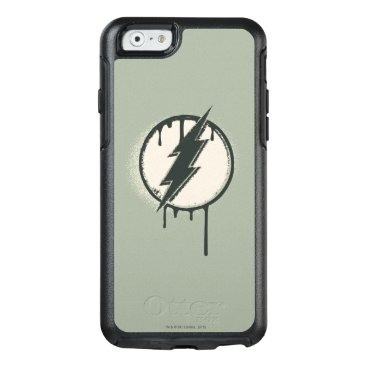 Flash Bolt Paint Grunge OtterBox iPhone 6/6s Case