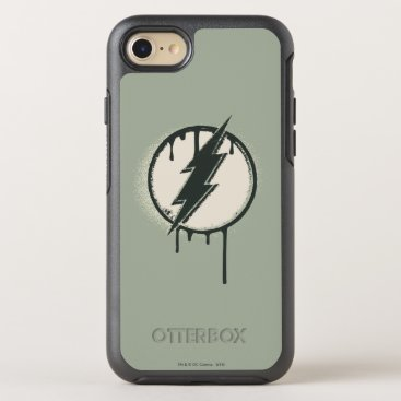 Flash Bolt Paint Grunge OtterBox Symmetry iPhone 8/7 Case
