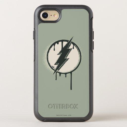 Flash Bolt Paint Grunge OtterBox Symmetry iPhone SE/8/7 Case