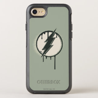 Flash Bolt Paint Grunge OtterBox Symmetry iPhone 8/7 Case