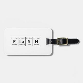 FLaSH Chemistry Periodic Table Element Symbols Luggage Tag