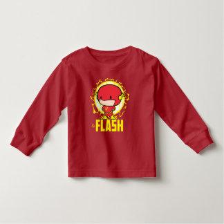Flash de Chibi con electricidad Playera De Bebé