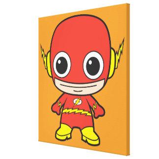 Flash de Chibi Impresión En Lienzo Estirada