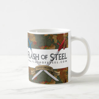 Flash de la taza de acero del detalle