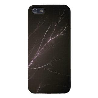 Flash del aligeramiento iPhone 5 protectores