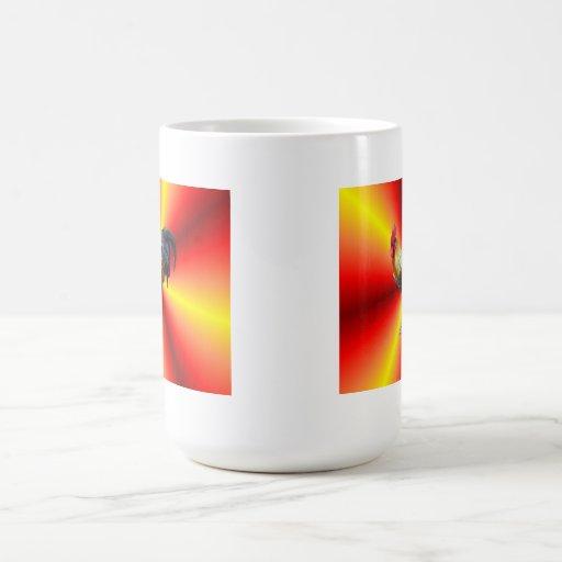 Flash del gallo taza