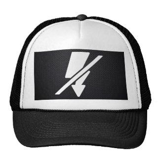 Flash Disconnects Minimal Trucker Hat