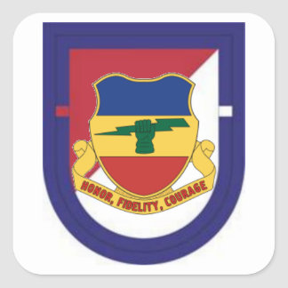 FLASH/DUI 1ST SQUADRON 73D CAVALRY STICKERS