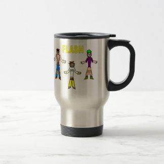 FLASH/FBS logo steel travel mug