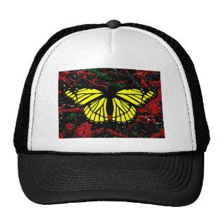 FLASH FIRE (abstract art design - variant 1) ~ Mesh Hats