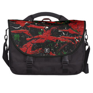 FLASH FIRE (abstract art design - variant 1) ~ Computer Bag
