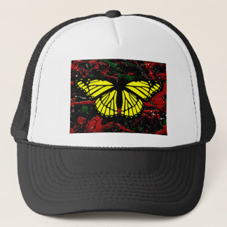 FLASH FIRE (abstract art design - variant 1) ~ Trucker Hat
