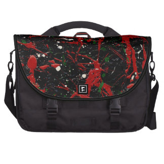 FLASH FIRE (abstract art design - variant 2) ~ Laptop Bags