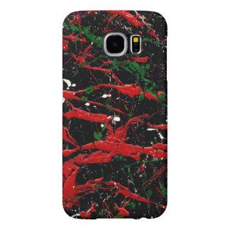 FLASH FIRE (an abstract art design) ~ Samsung Galaxy S6 Case