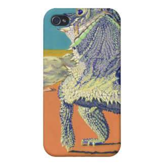 Flash Flood - Horned Toad iPhone 4/4S Case