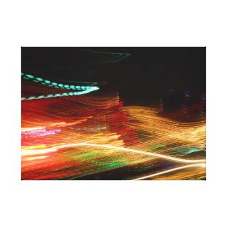 Flash Forward Canvas Print